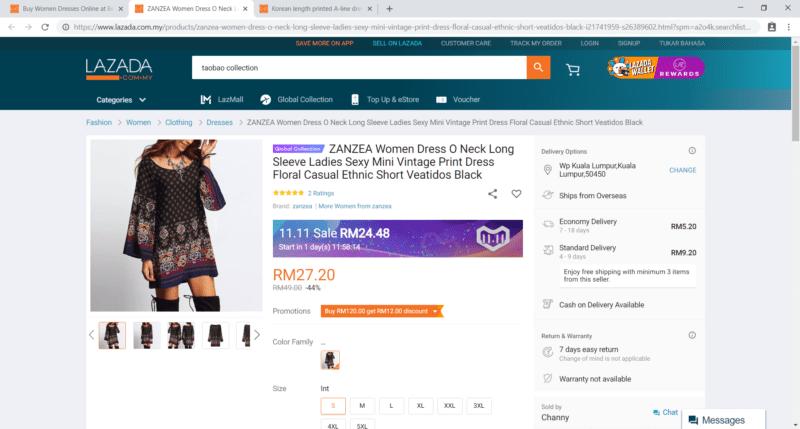 confusing lazada taobao collection 1
