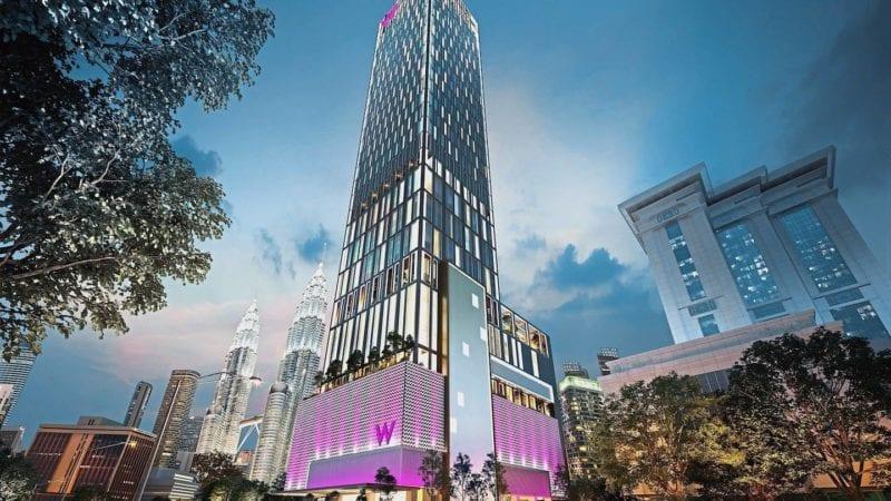 W Taipei building