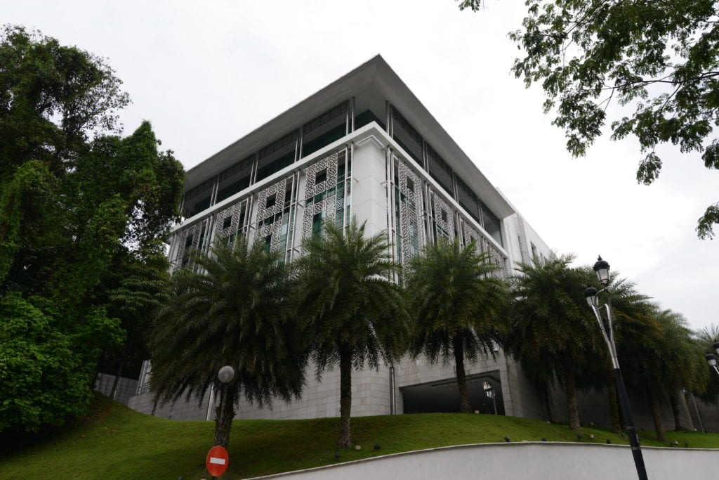 Frontage of Islamic Arts Museum Malaysia