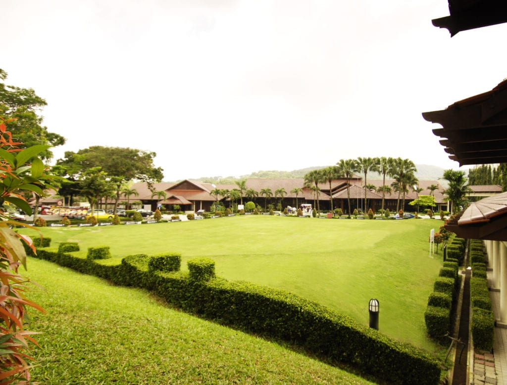 Green lawns at Bukit Kiara Equestrian & Country Resort