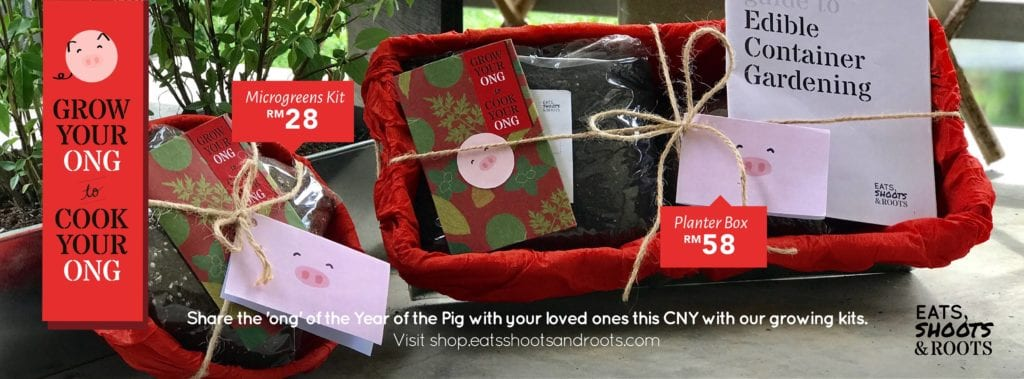 CNY hampers - seedlings kits