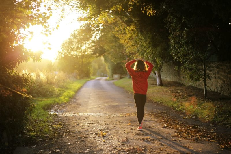 go for a walk or jog