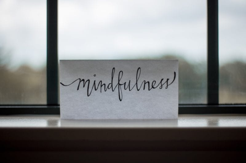 practice mindfulness to be happy