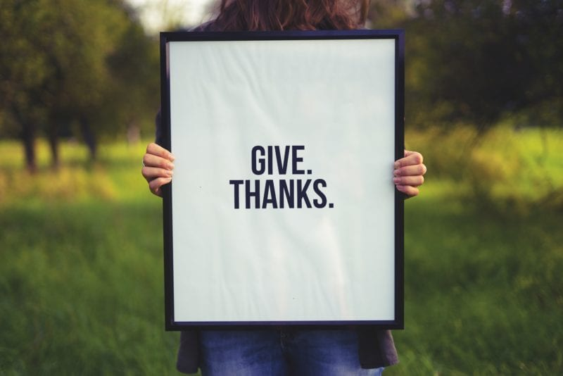 be grateful for everything in life