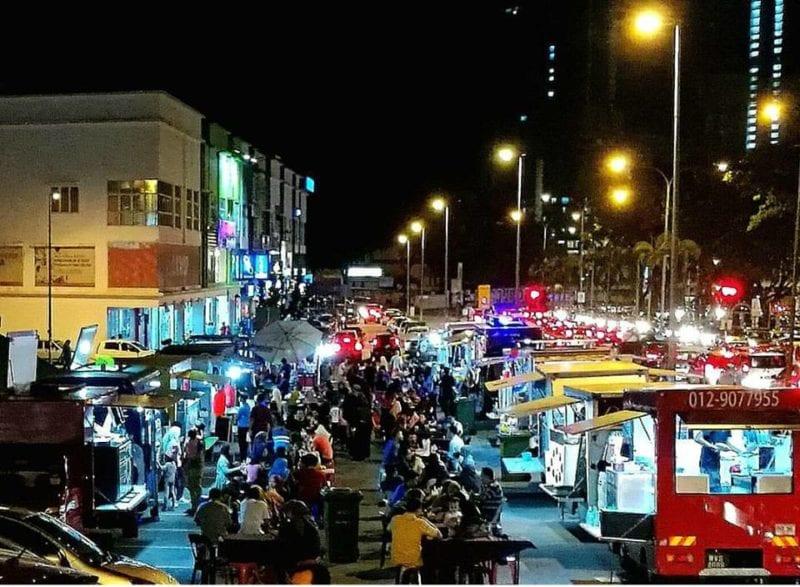 Food truck park wangsa melawati