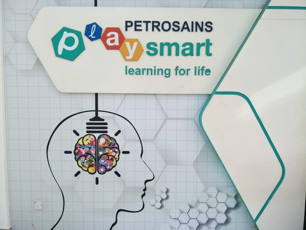 Front entrance to Petrosains Playsmart Kuantan