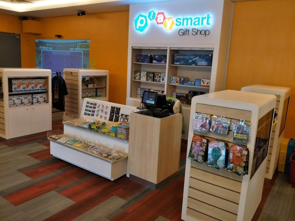 Gift shop at Petrosains Playsmart