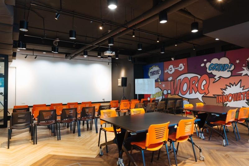Worq coworking space KL