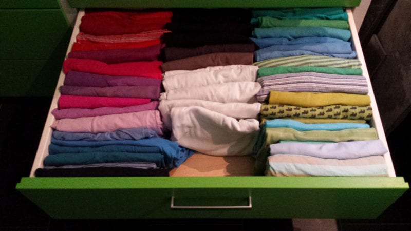 konmari drawer
