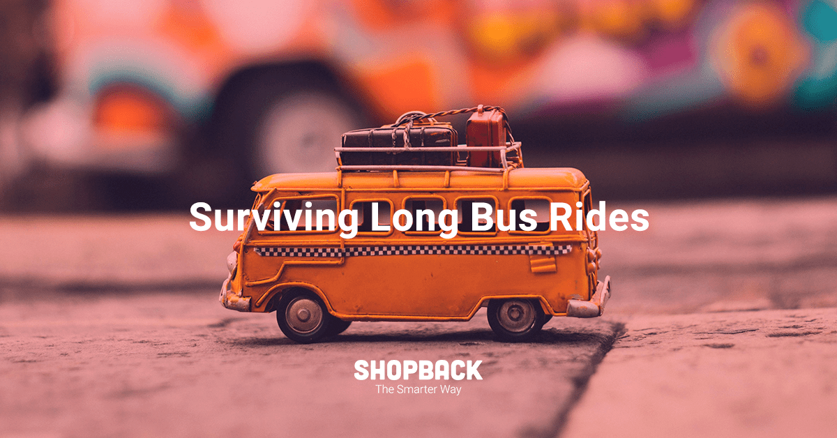Domestic Travel — How To Survive a Long Bus Ride