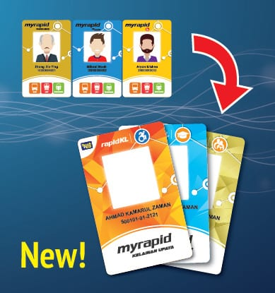 Myrapid concession cards