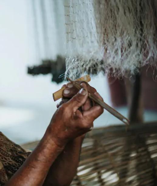 Make Fishing Net & Trap with Muruts airbnb