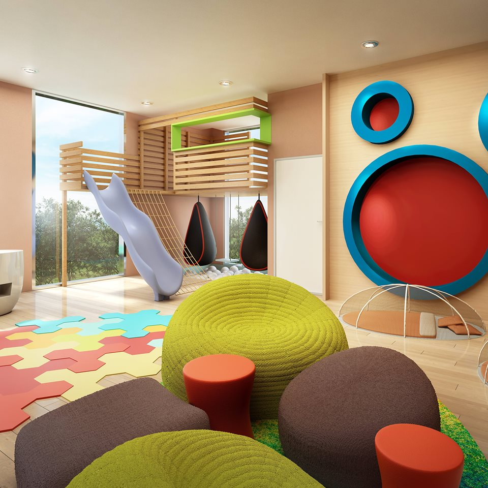 The colourful interiors of The Westin Family Kids Club