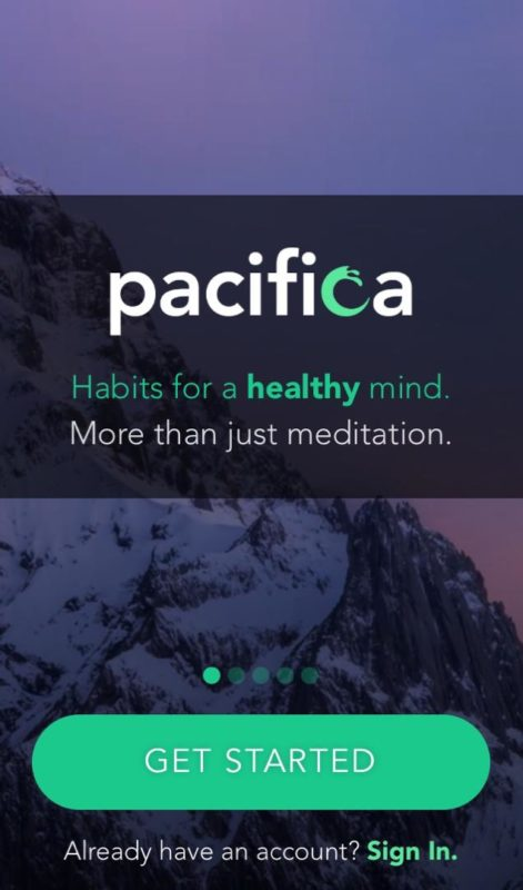 app to help with anxiety and stress