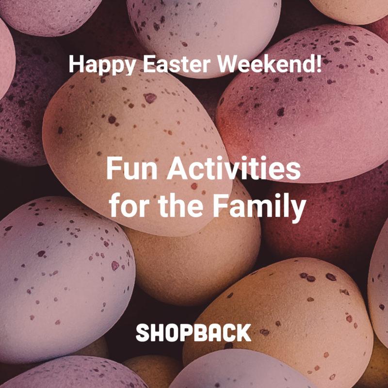 blog header easter weekend colored eggs