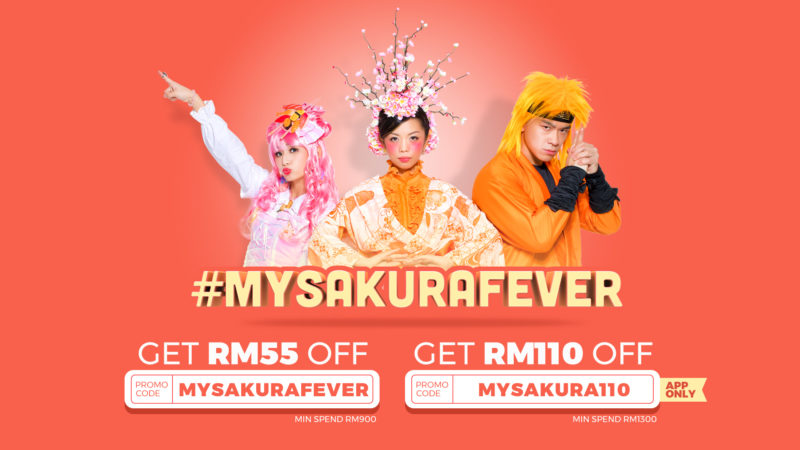 sakura fever klook jr pass promo code