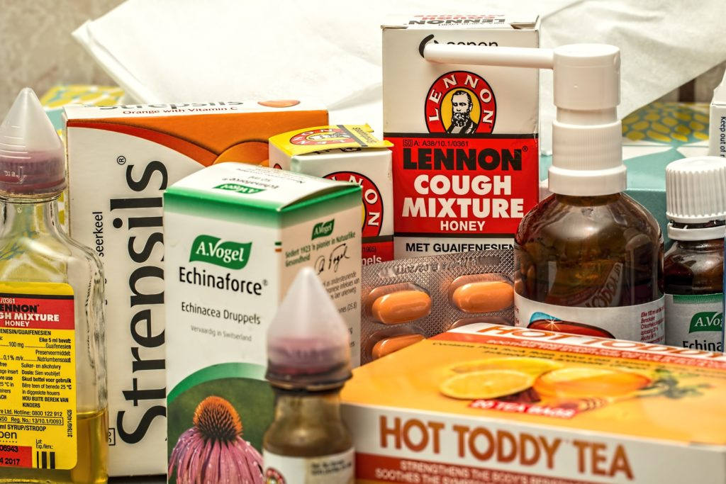 cough and cold medicines of every kind
