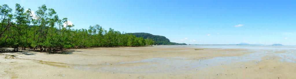 Coastline at Bako National Park
