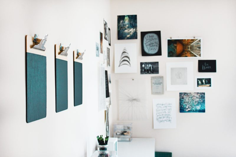 DIY Art Wall in your room