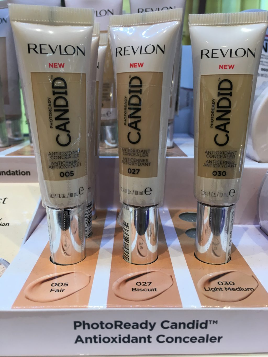 3 sets of Revlon PhotoReadt Candid concealer