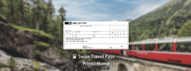 Klook Swiss Rail Pass