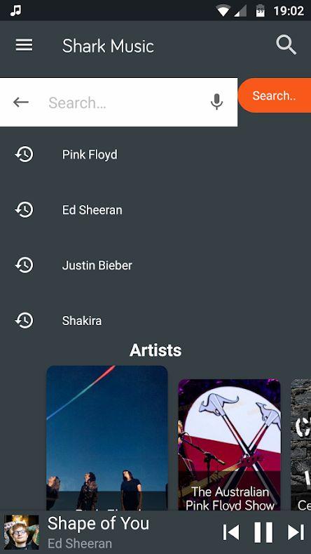 Grooveshark app