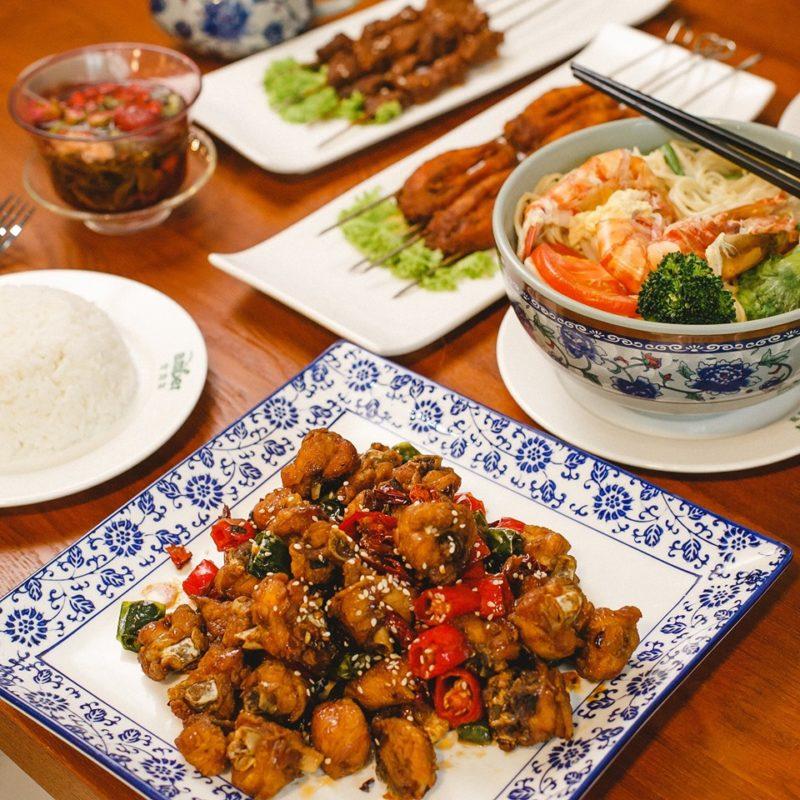 Muslim chinese food