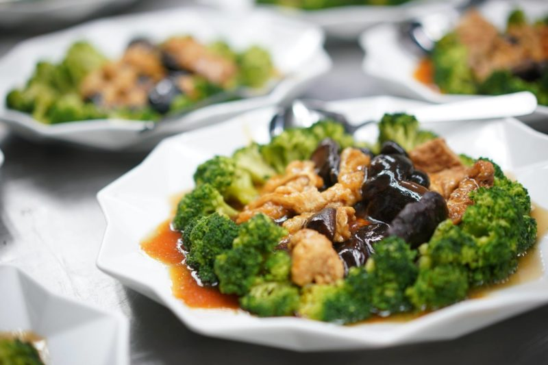 broccolu chinese dish