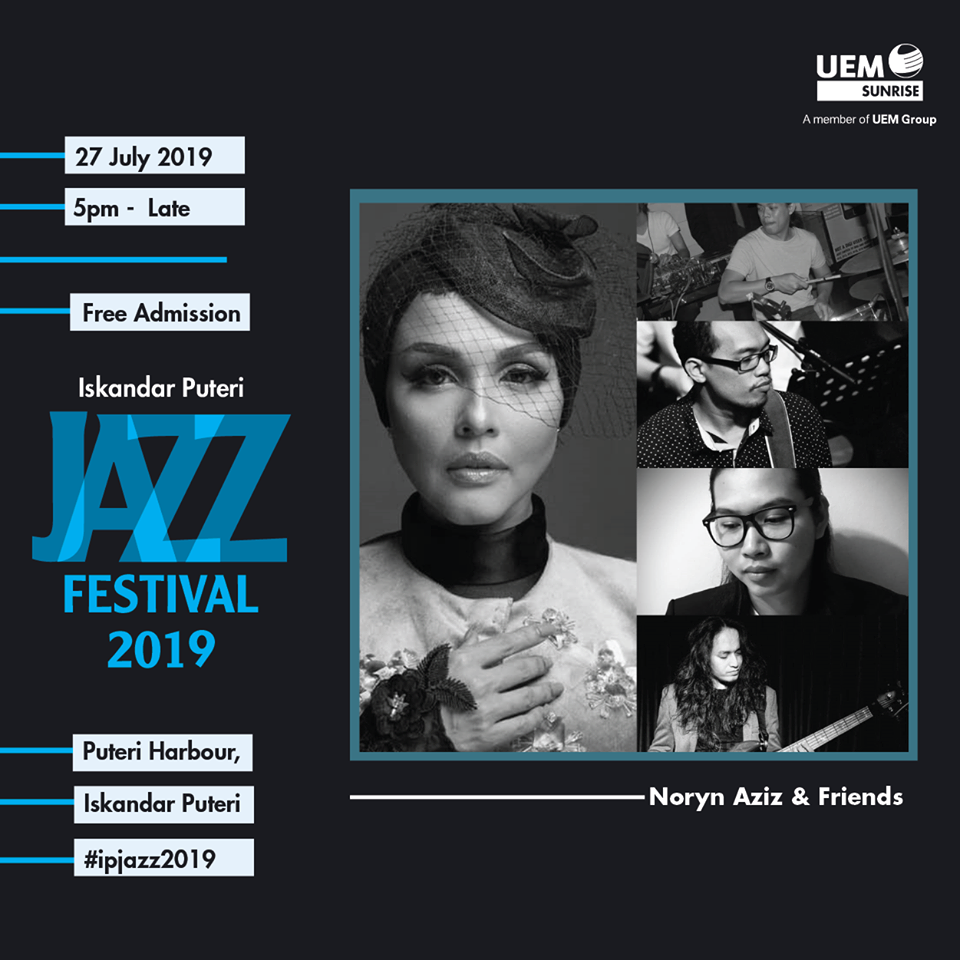 Poster featuring Noryn Aziz and band members