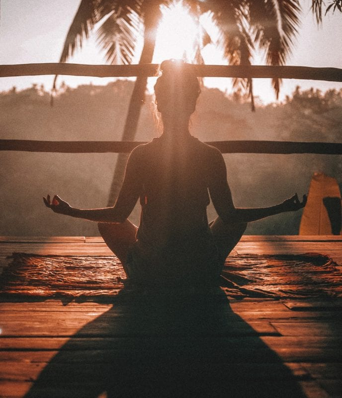 meditate to relax your mind