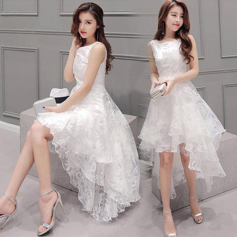 organza dress white
