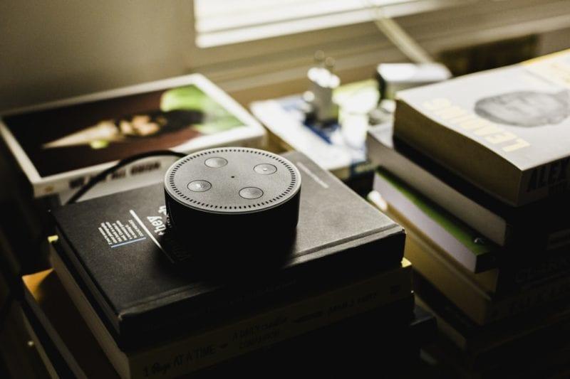 Amazon echo dot voice assistant