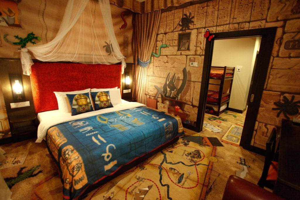 Kingdom room with Egyptian theme