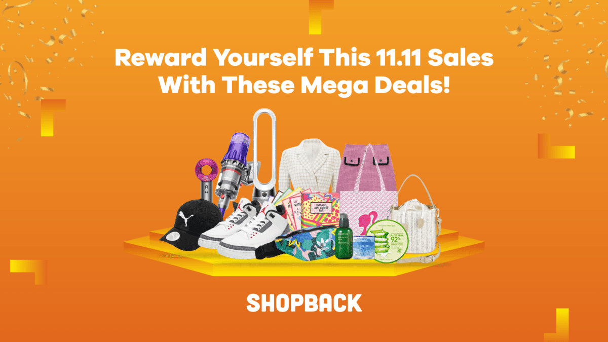 Reward Yourself This 11.11 With These Mega Deals!