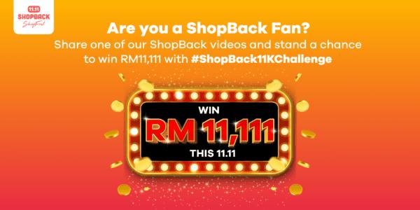 shopback 1111 11k challenge