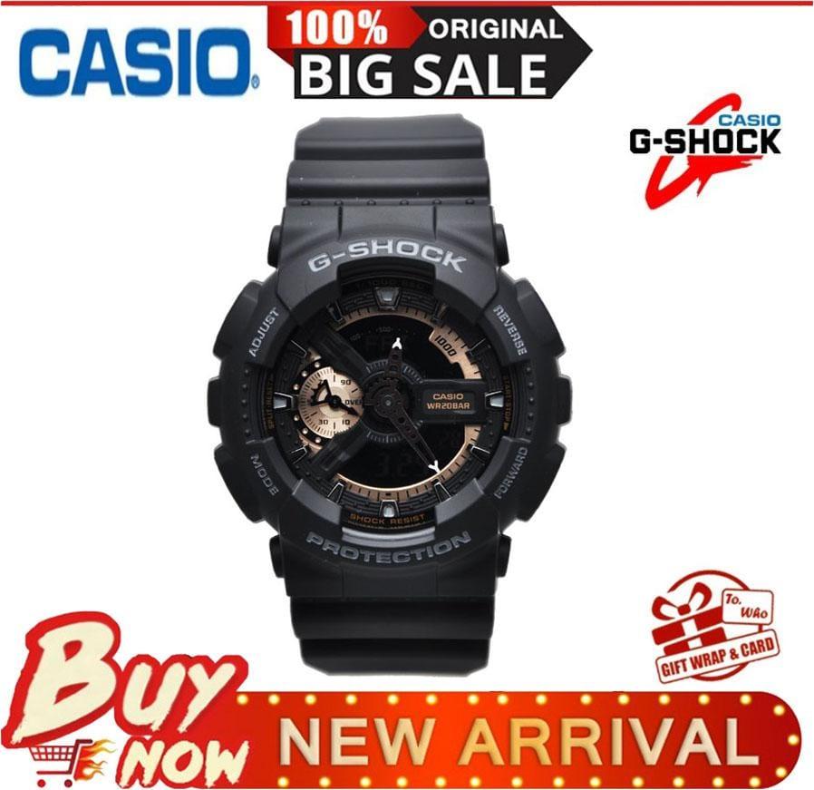 Casio G-sShock watch in black strap