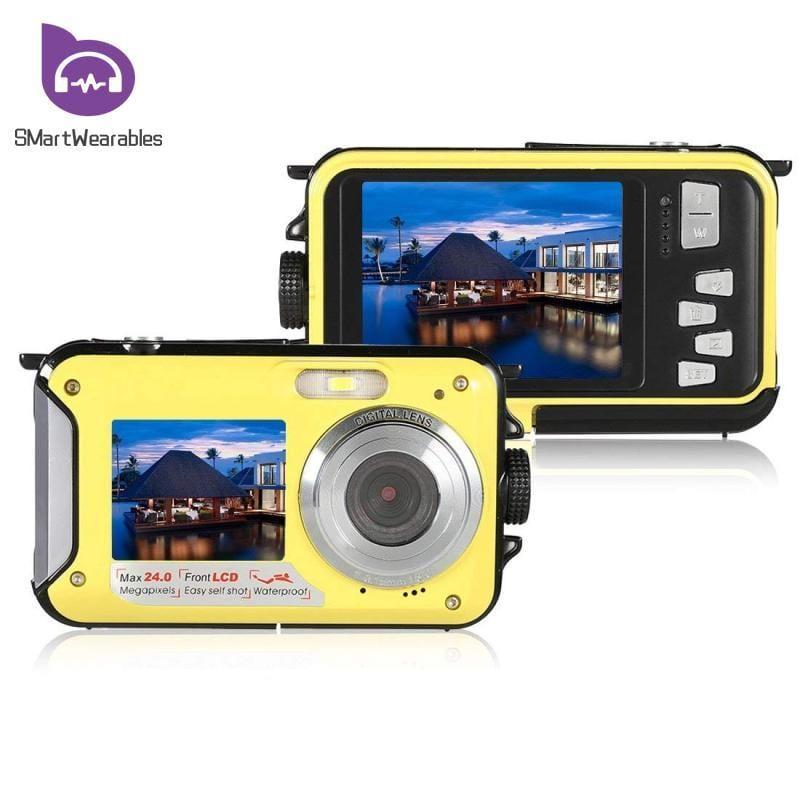 Digital camera in yellow