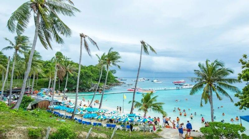 Coral island off Phuket