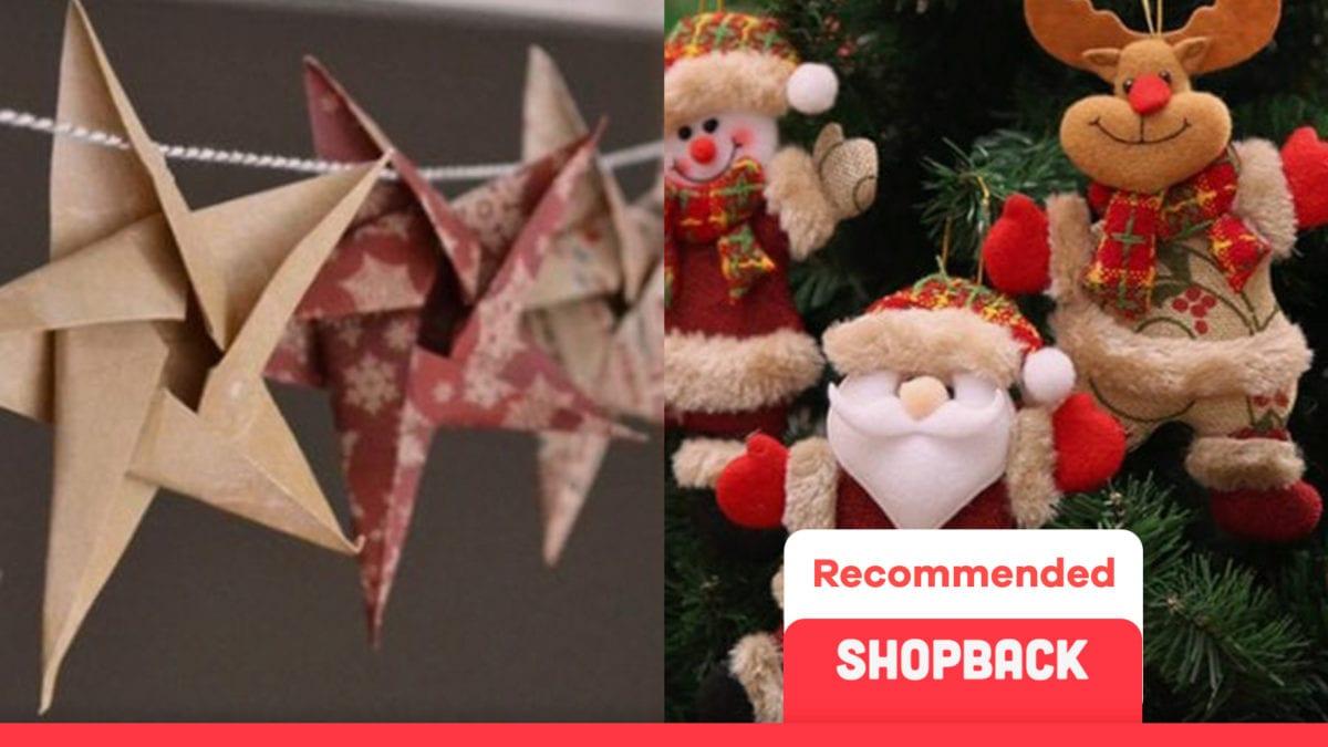 Deck Your Home For Less Than RM10 With These Christmas Decorations