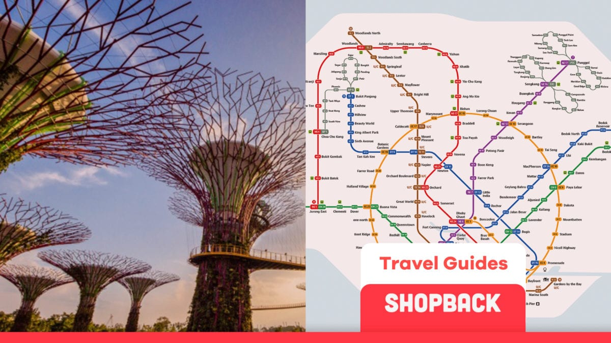 Visit Singapore's Attractions In 3 Days Under RM 600 On The Mass Rapid Transit Lines