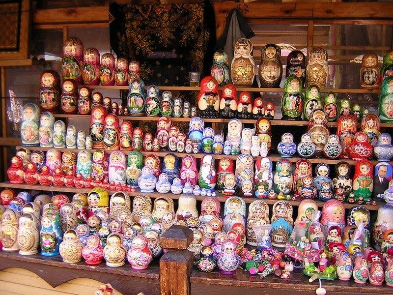 Izmailovsky flea market