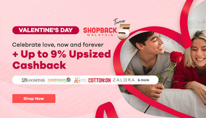 Celebrate Valentine's Day with ShopBack Malaysia This 2020