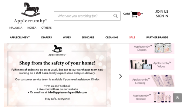baby online store