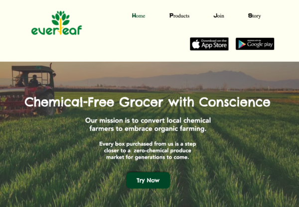 fresh chemical-free online grocer