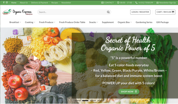 organic online grocer