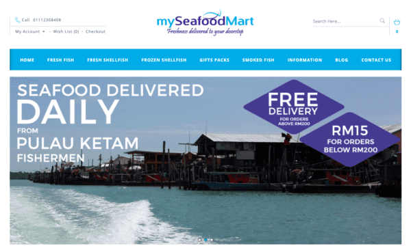 fresh seafood online grocer