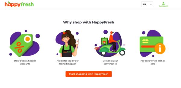 online grocer