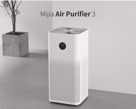 white air purifier to get clean and purified air at home