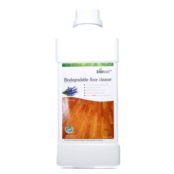 Greentouch biodegradable floor cleaner