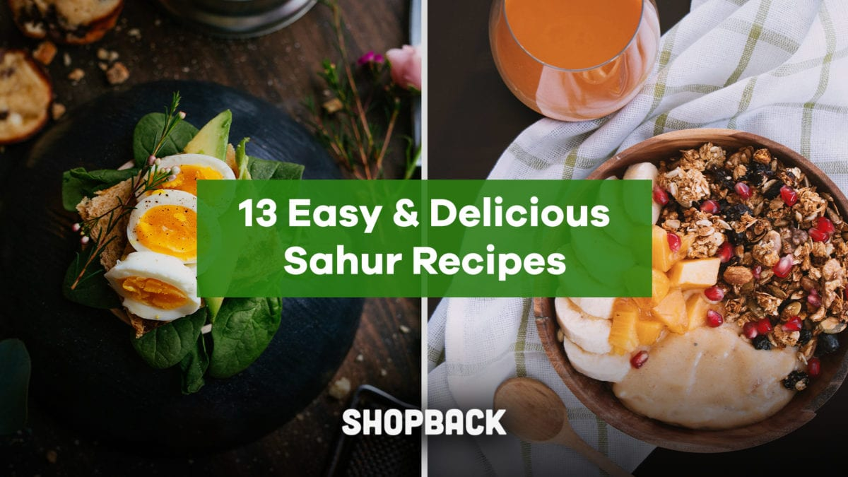 13 Easy and Delicious Sahurs Recipes (with downloadable PDFs!)